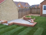 Mr & Mrs Weeks – patio and turf